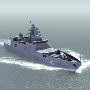 project admiral gorshkov frigate 3ds
