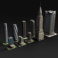 Skyscrapers collection