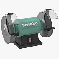 Bench Grinder Metabo DS 200 3D Model