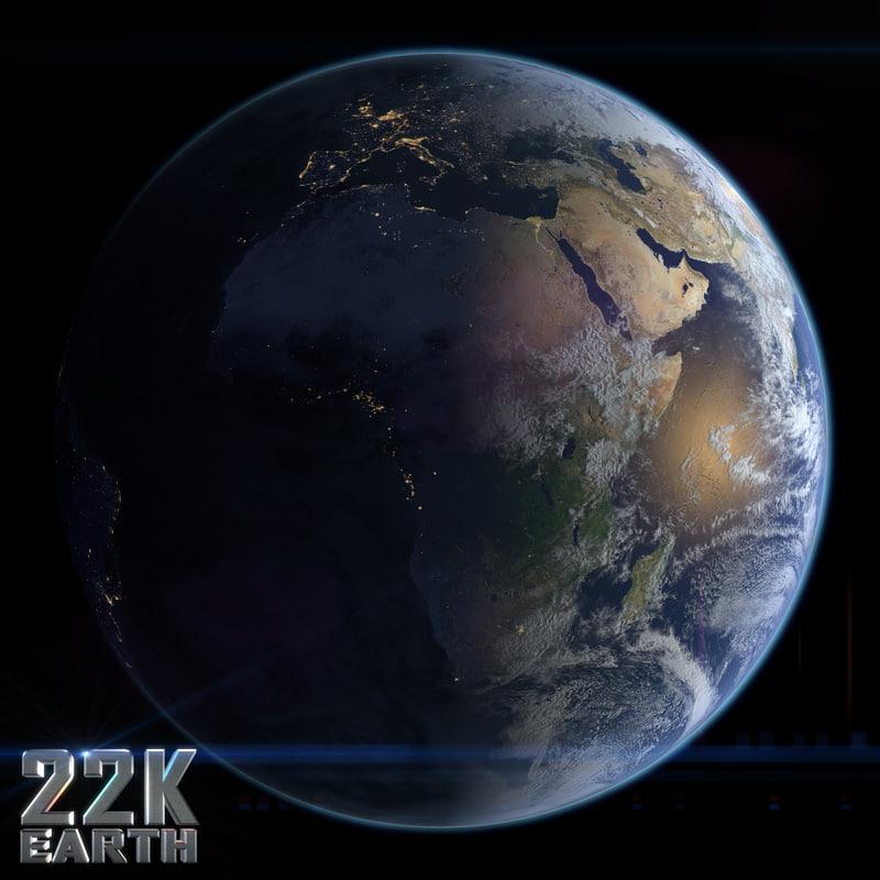 earth cloud c4d