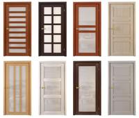 Modern wooden Door Set