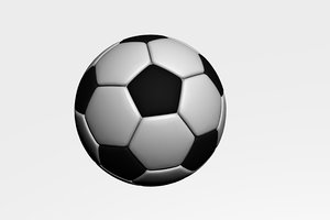 free soccer ball 3d model