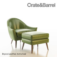 max bryce leather armchair