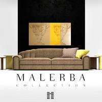 sofa malerba 3d max