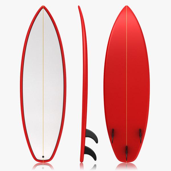 realistic surfboard max