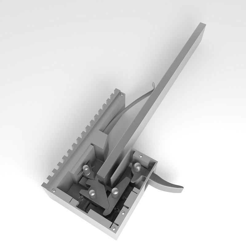 trigger crossbow 3d model
