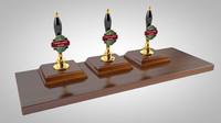 beer pump c4d