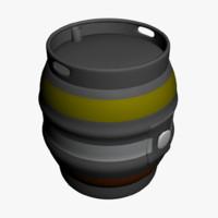 beer cask 3ds