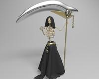 3d death model