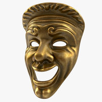 Theatre Comedy Mask