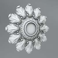 Carved rosettes 48