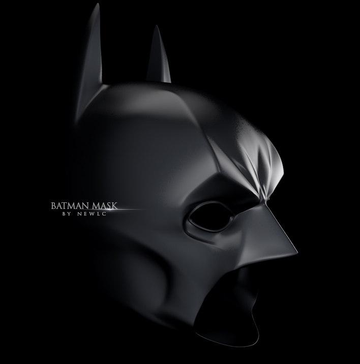 bat mask 3d max