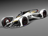 chevrolet concept chaparral 3d model