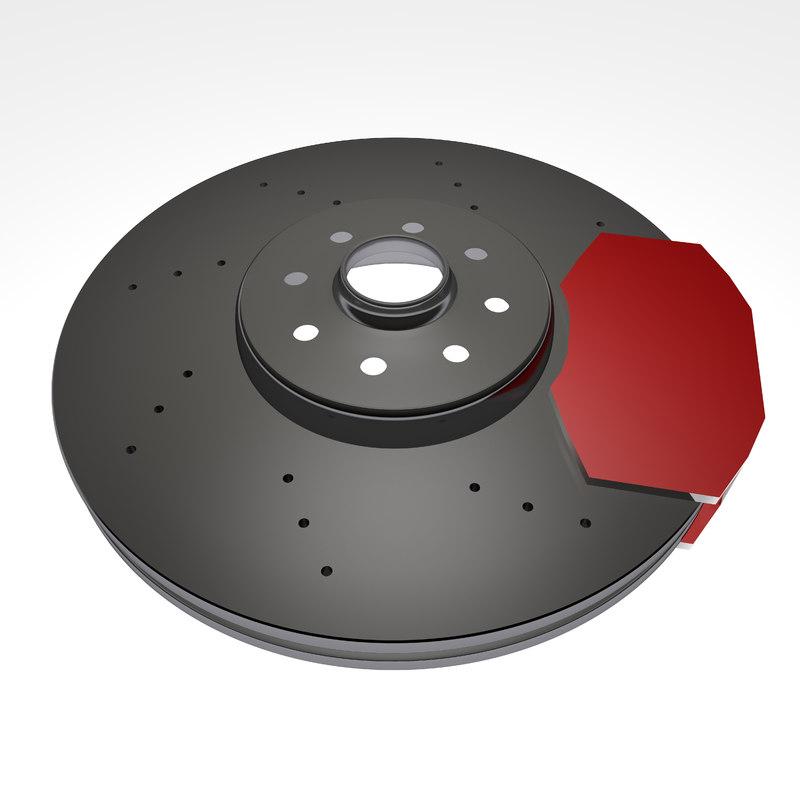 brake disc 3d model