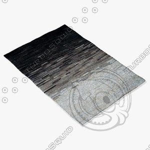momeni rugs abstract audrey 3d obj