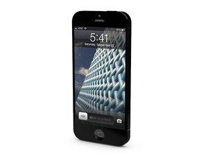 iphone phone 3d c4d