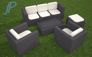 3d garden furniture model