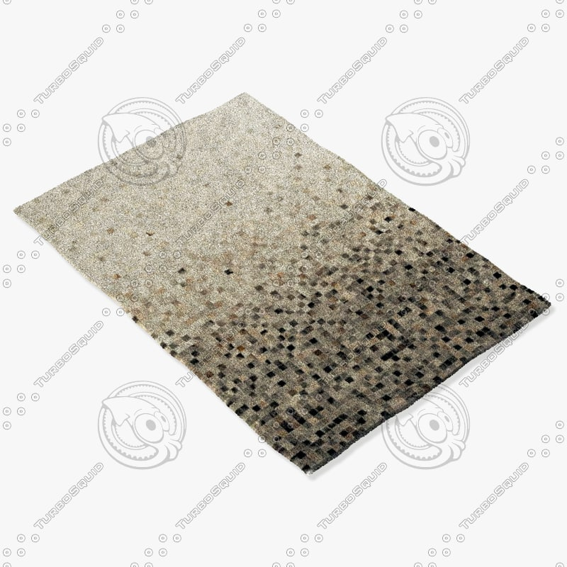 momeni rugs abstract bueno 3d obj