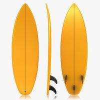 Surfboard (Orange)