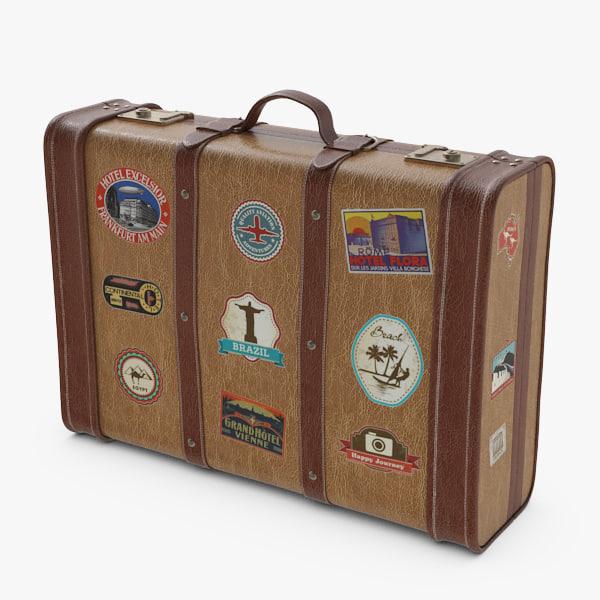 3ds max case suitcase suit