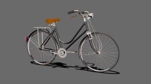 heavy duty bicycle 3d model