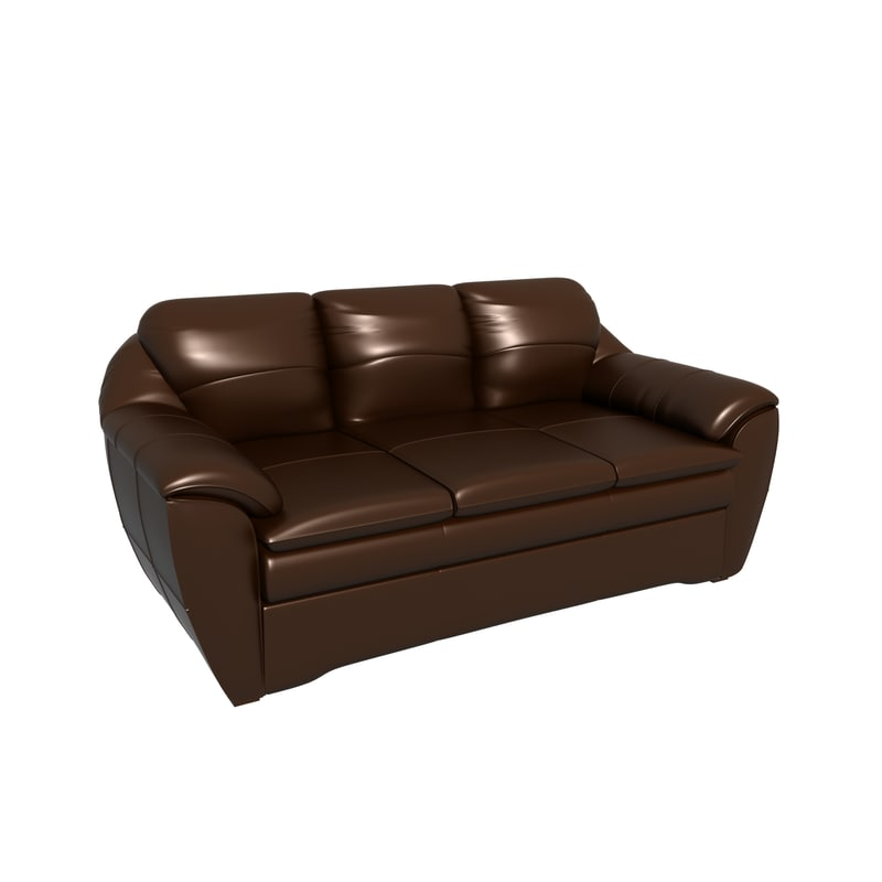 classic leather sofa 3d max