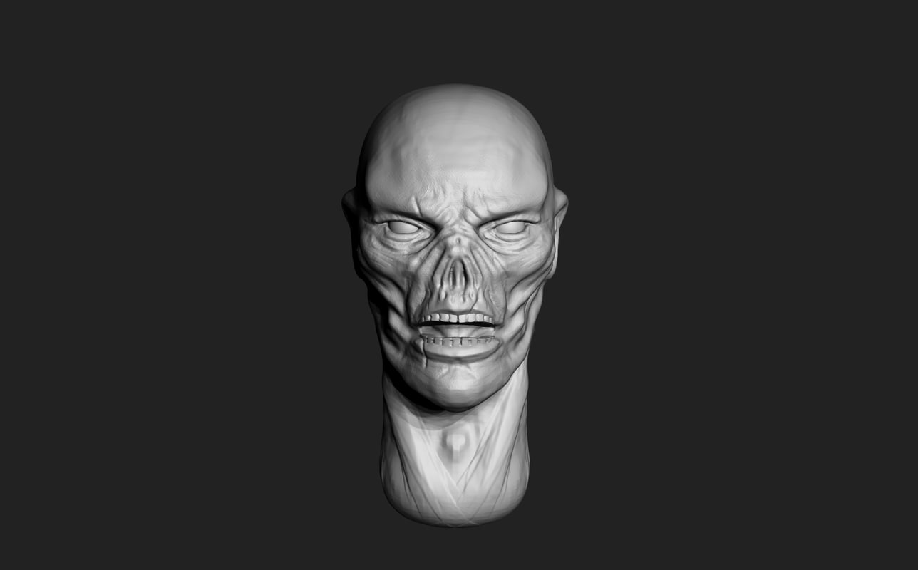 3ds max zbrush undead