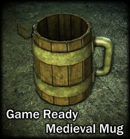 3ds ready medieval mug