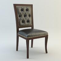 3d model seven sedie ottocento