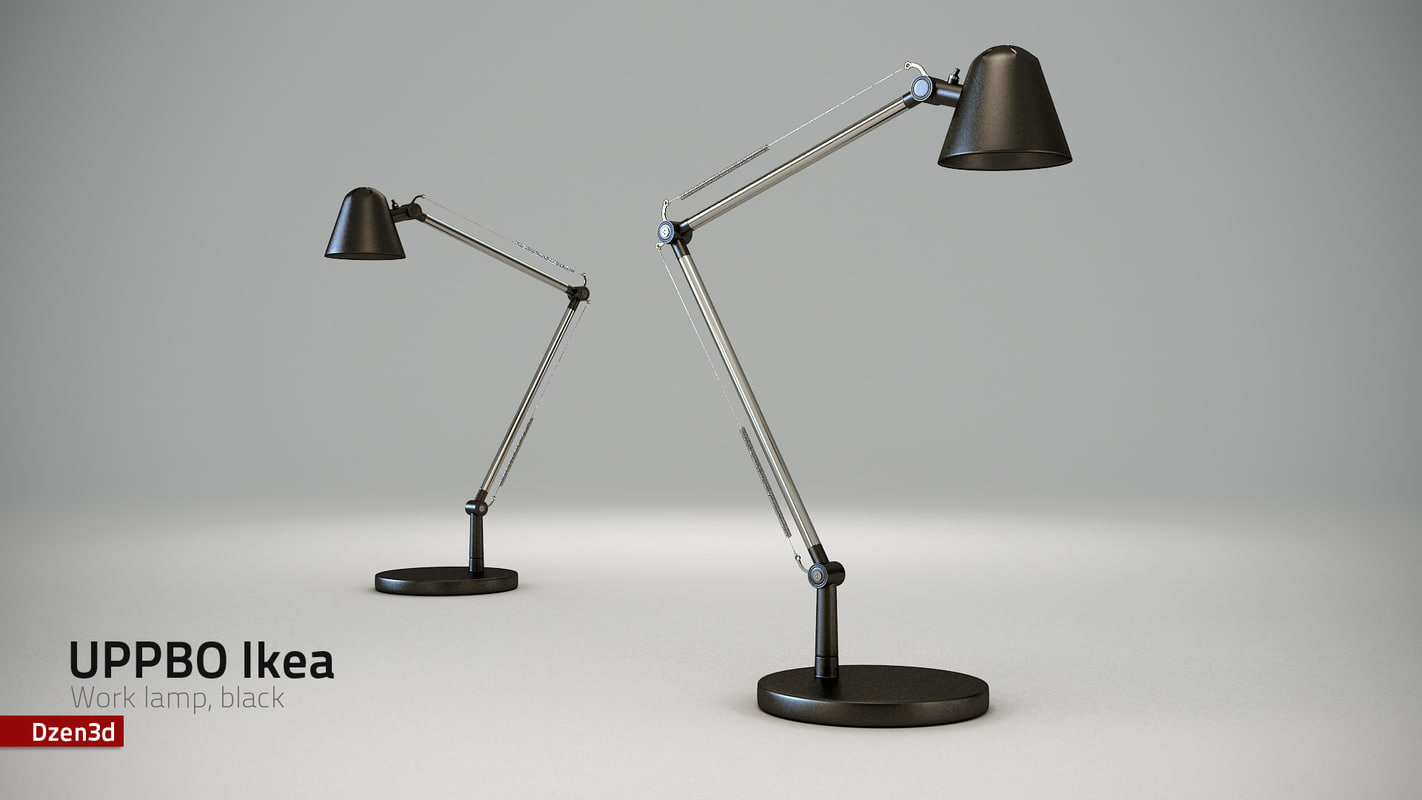 max uppbo work lamp black