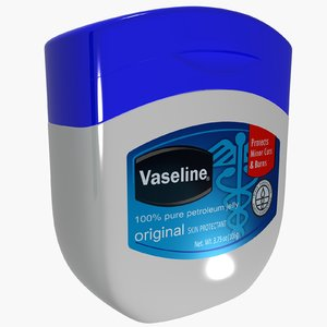 beauty petroleum jelly vaseline 3d model