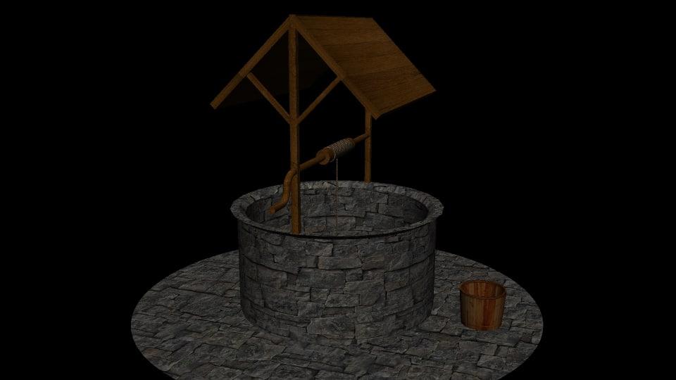 3d bucket games scenes