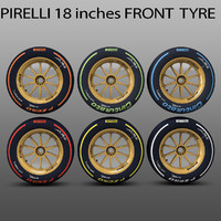 pirelli tyre 18 inches 3ds