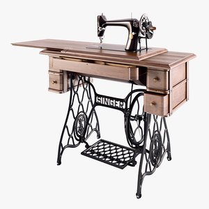 3d sewing machine singer 66