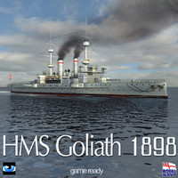 hms goliath 1898 world war 3ds