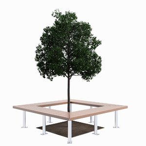 3ds bench tree