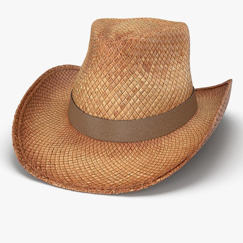 b0bcb8acf Cowboy Hat 3D Models for Download | TurboSquid