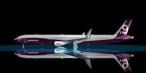 3d boeing 777-9x