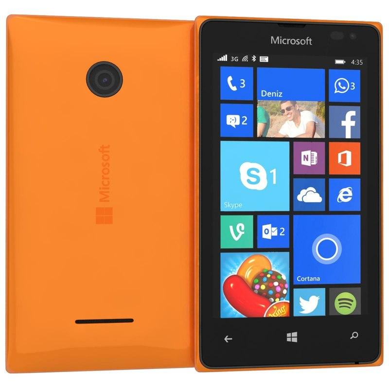 3d microsoft lumia 532 dual
