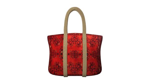 3d reusable shopping bag model