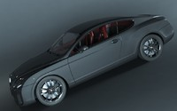 2015 bentley continental 3d model