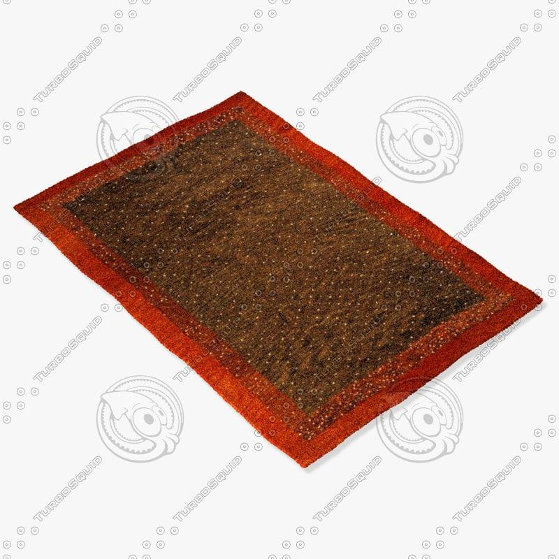 momeni rugs abstract dg01brn max