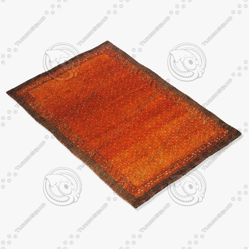 3d model momeni rugs abstract dg01pap