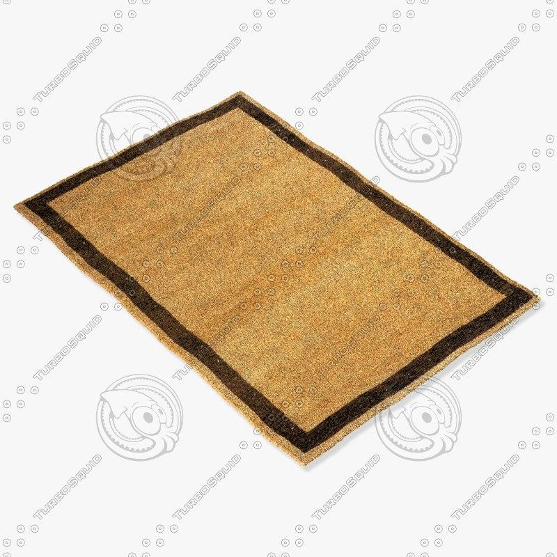 momeni rugs abstract dg03cml 3d model