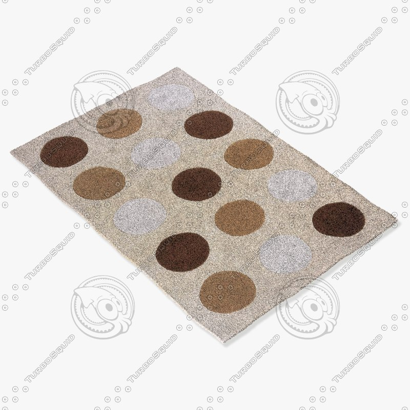 momeni rugs abstract dl15brn 3ds