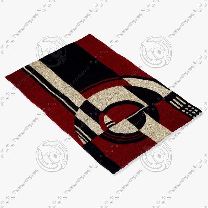 momeni rugs abstract dl30mti 3ds