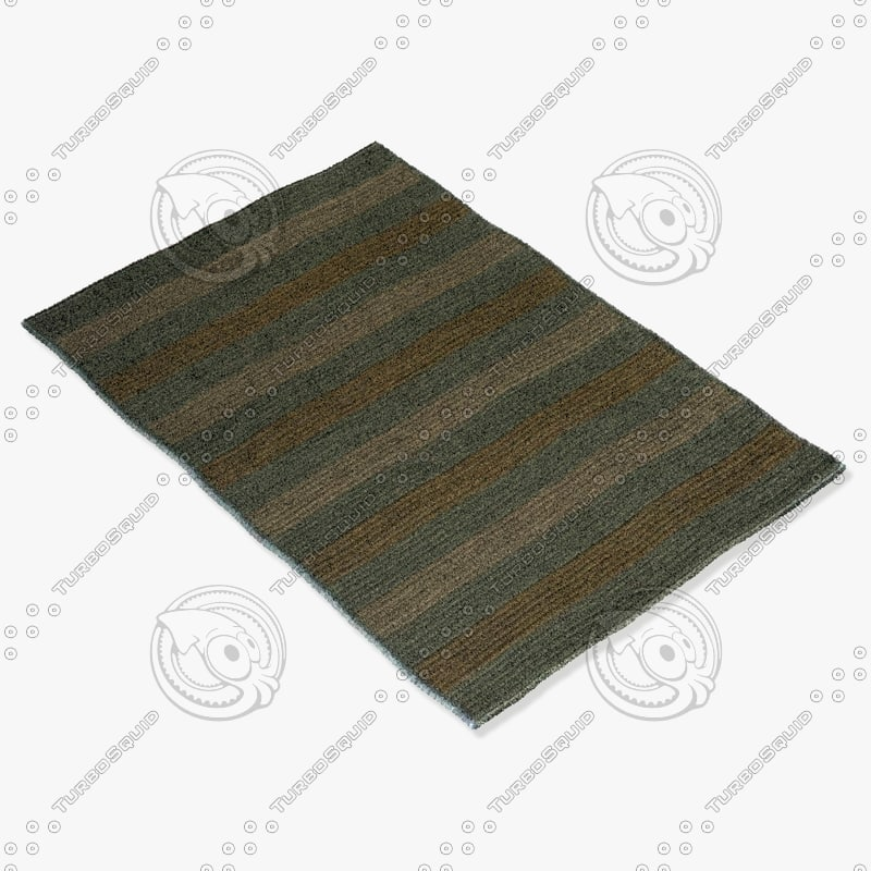3d model momeni rugs abstract dr03lbl