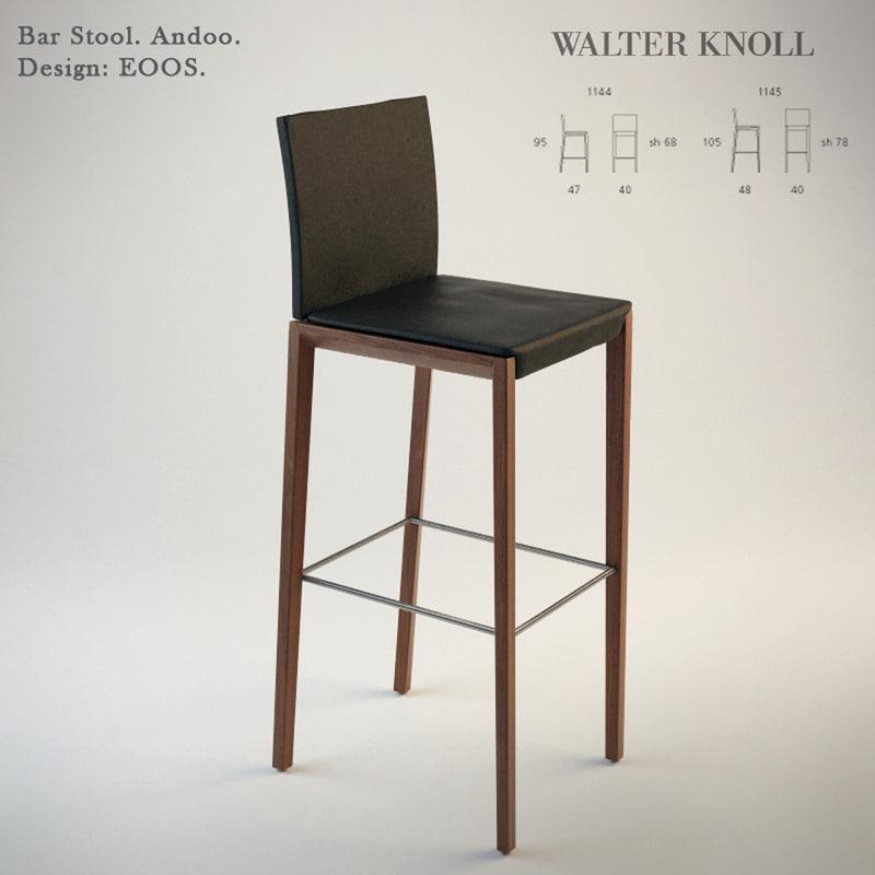 andoo bar 3d model