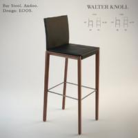 Walter Knoll  Andoo Bar Stool