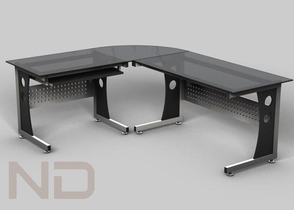 office desk 3d max